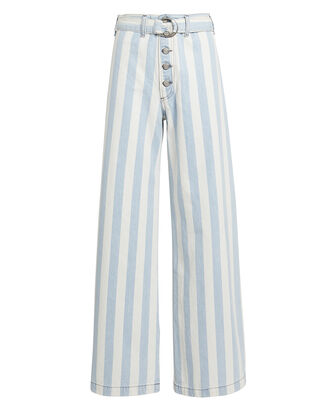 The Charley Wide Leg Jeans, DENIM, hi-res