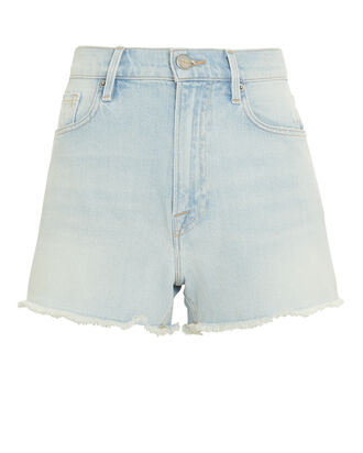 Le Vintage Halen Denim Shorts, LIGHT BLUE DENIM, hi-res