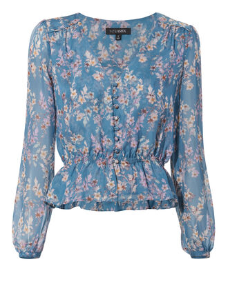 Clare Blouse, DENIM, hi-res
