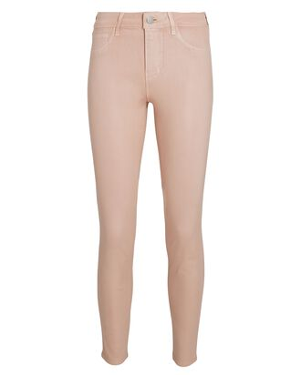 Margot Coated Skinny Jeans, PETAL, hi-res