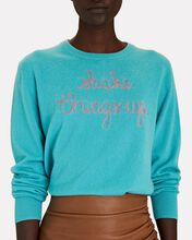 Shake Things Up Cashmere Sweater, TURQUOISE, hi-res