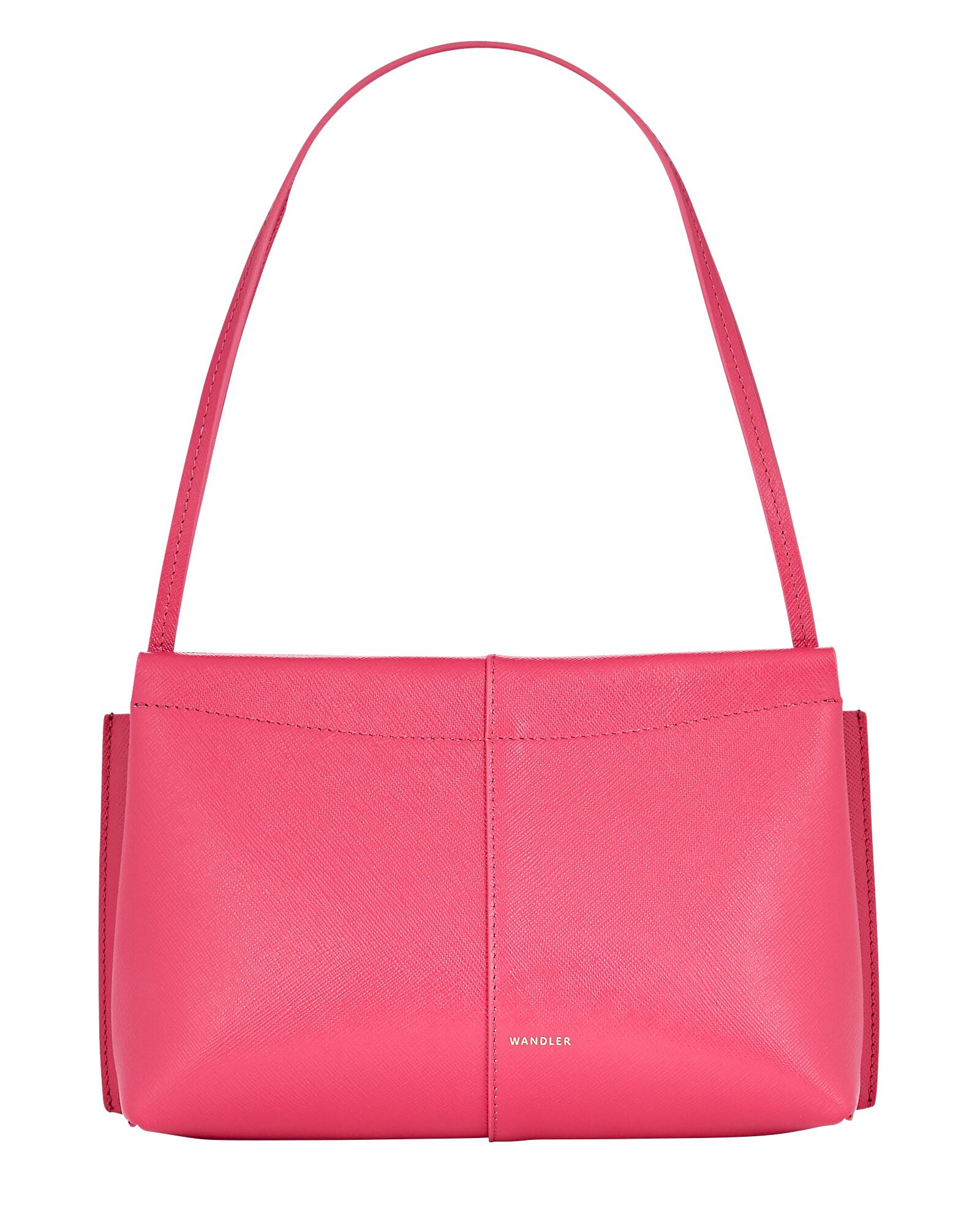 Carly Mini Leather Bag, PINK, hi-res
