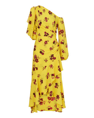 Florence Dress, YELLOW, hi-res