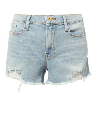 Le Cutoff Forton Shorts, DENIM, hi-res