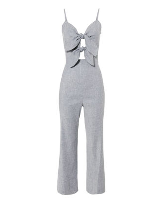 Jenny Double Tie Front Jumpsuit, MULTI, hi-res