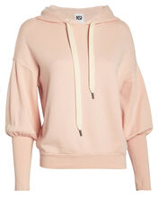 Isabel French Terry Hoodie, BLUSH, hi-res