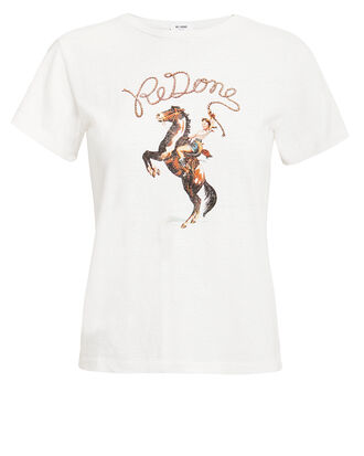 Cowgirl Classic T-Shirt, WHITE, hi-res