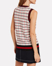 Mirror Cashmere Sweater Vest, MULTI, hi-res