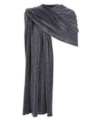 Gunmetal Lurex Wrap, GUNMETAL, hi-res