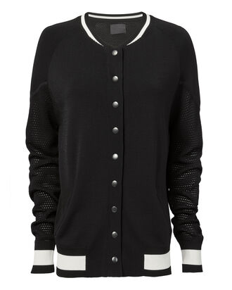 Sands Nylon Bomber Jacket, BLACK, hi-res
