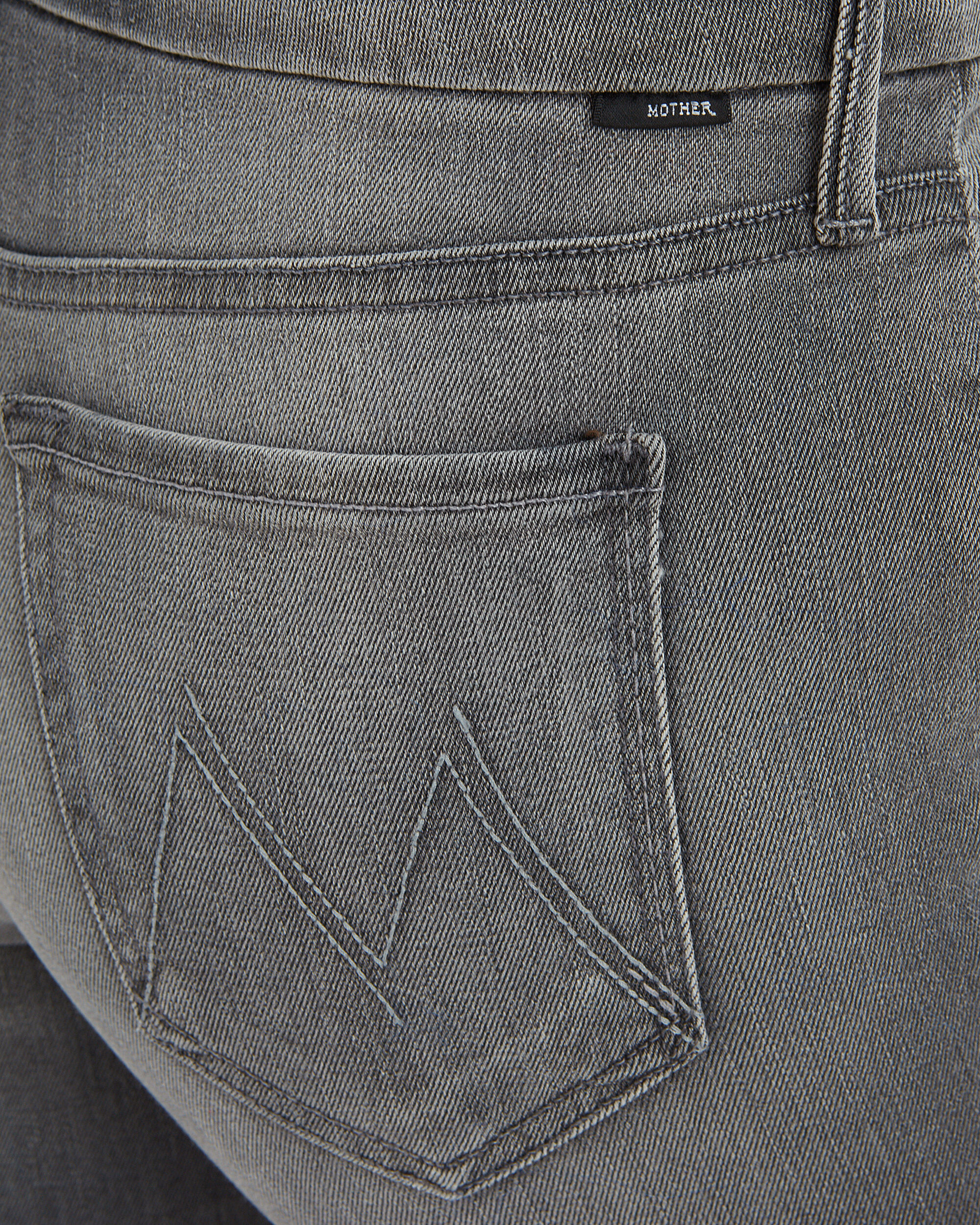 Looker Ankle Fray Supermoon Grey Jeans, GREY, hi-res