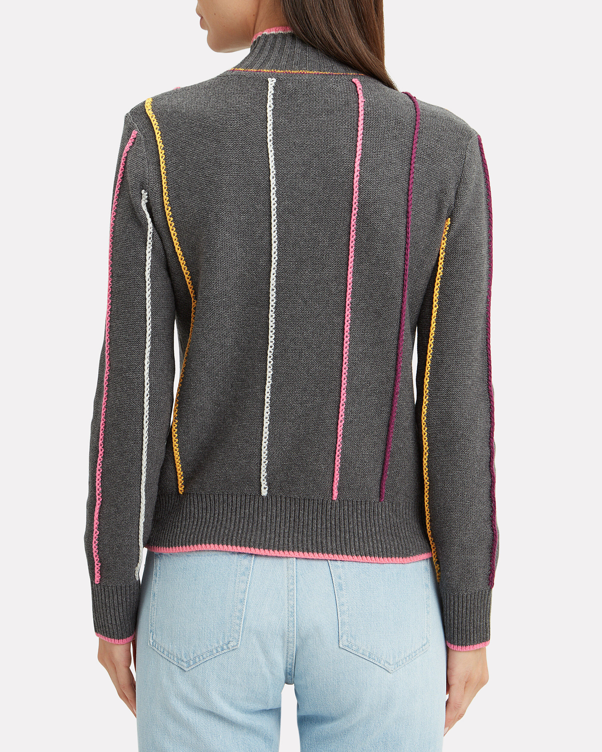 Tom Striped Sweater, GREY/STRIPES, hi-res