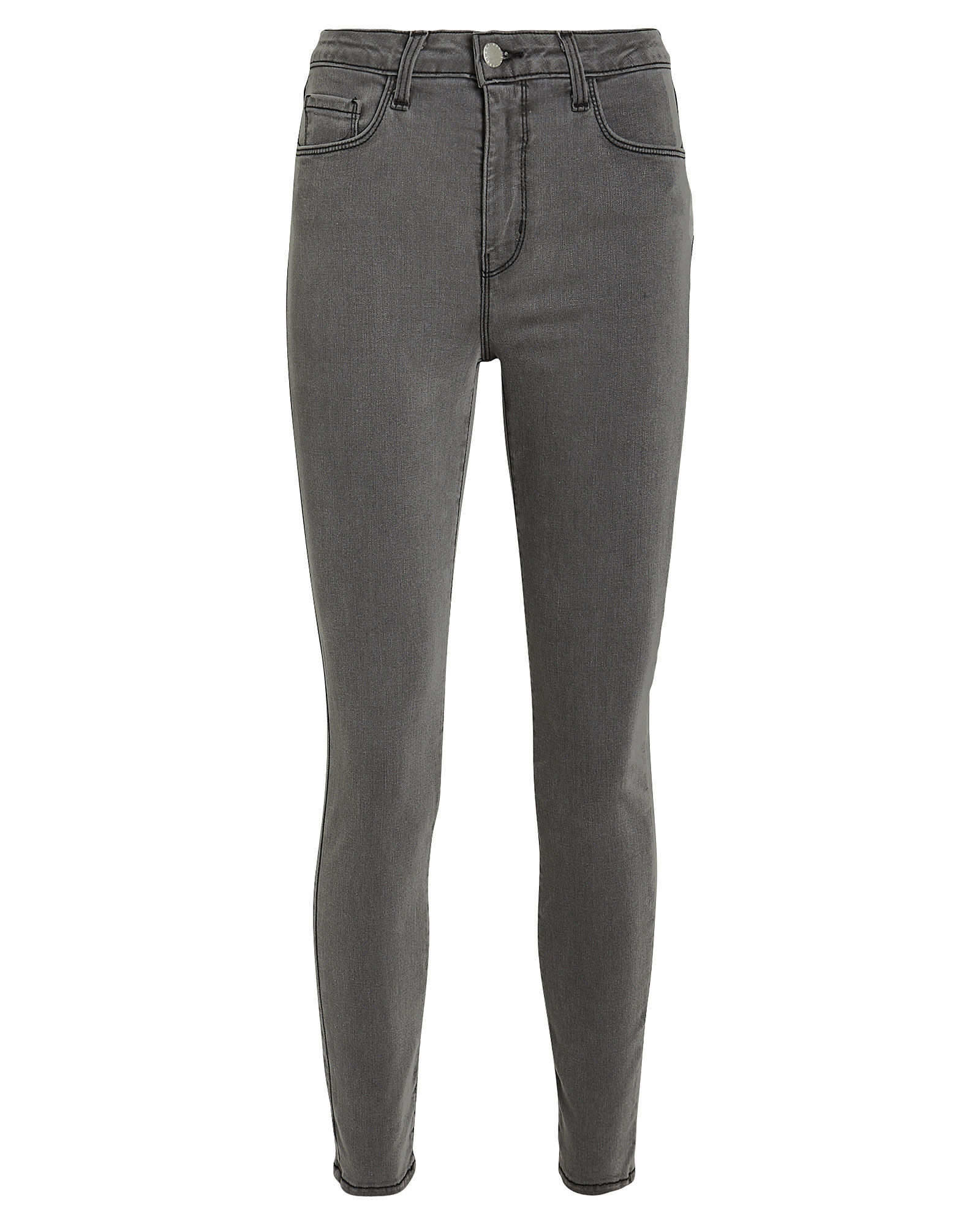 Margot High-Rise Skinny Jeans, CAST IRON, hi-res