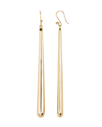 Bar Drop Earrings, GOLD, hi-res