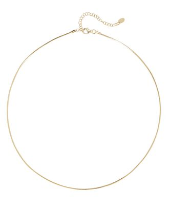 Tuscany Snake Chain Necklace, GOLD, hi-res