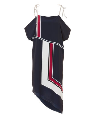 Edyte Colorblock Dress, NAVY, hi-res