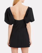 Mia Puff Sleeve Dress, BLACK, hi-res