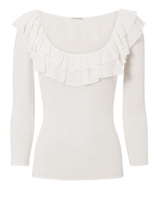 Cassia Top, WHITE, hi-res