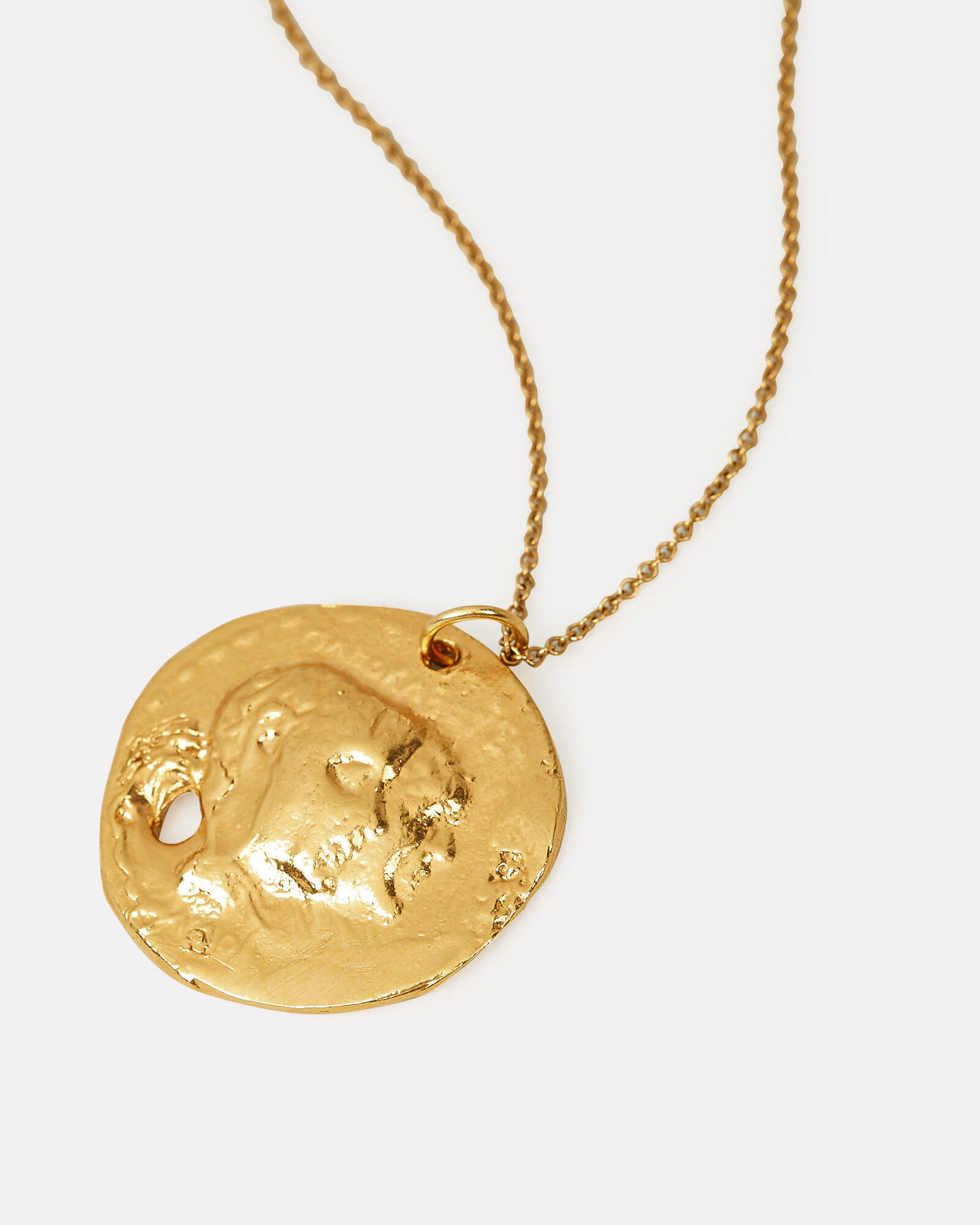 The Other Side of The World Necklace, GOLD, hi-res