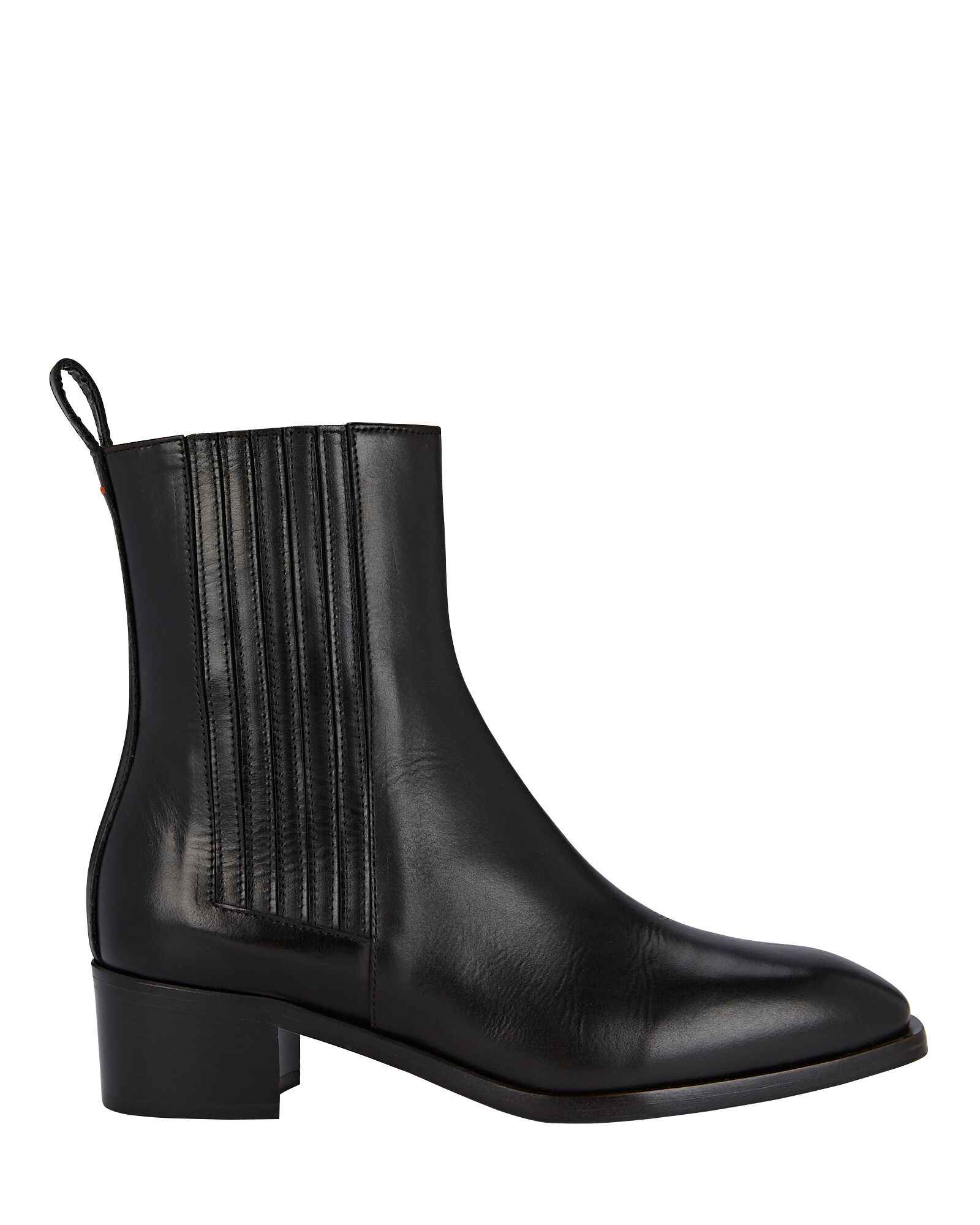 Neil Leather Ankle Boots, BLACK, hi-res