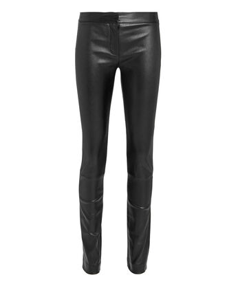 Hanne Leather Leggings, BLACK, hi-res