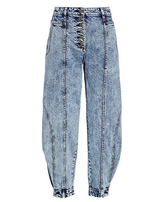 Brodie Cropped High-Rise Jeans, ACID WASH DENIM, hi-res