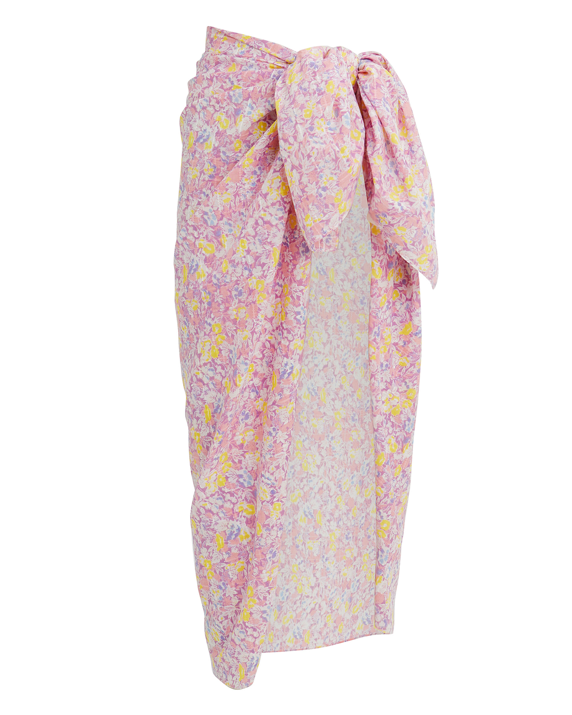 Noa Pareo Cover-Up Skirt, PURPLE/FLORAL, hi-res