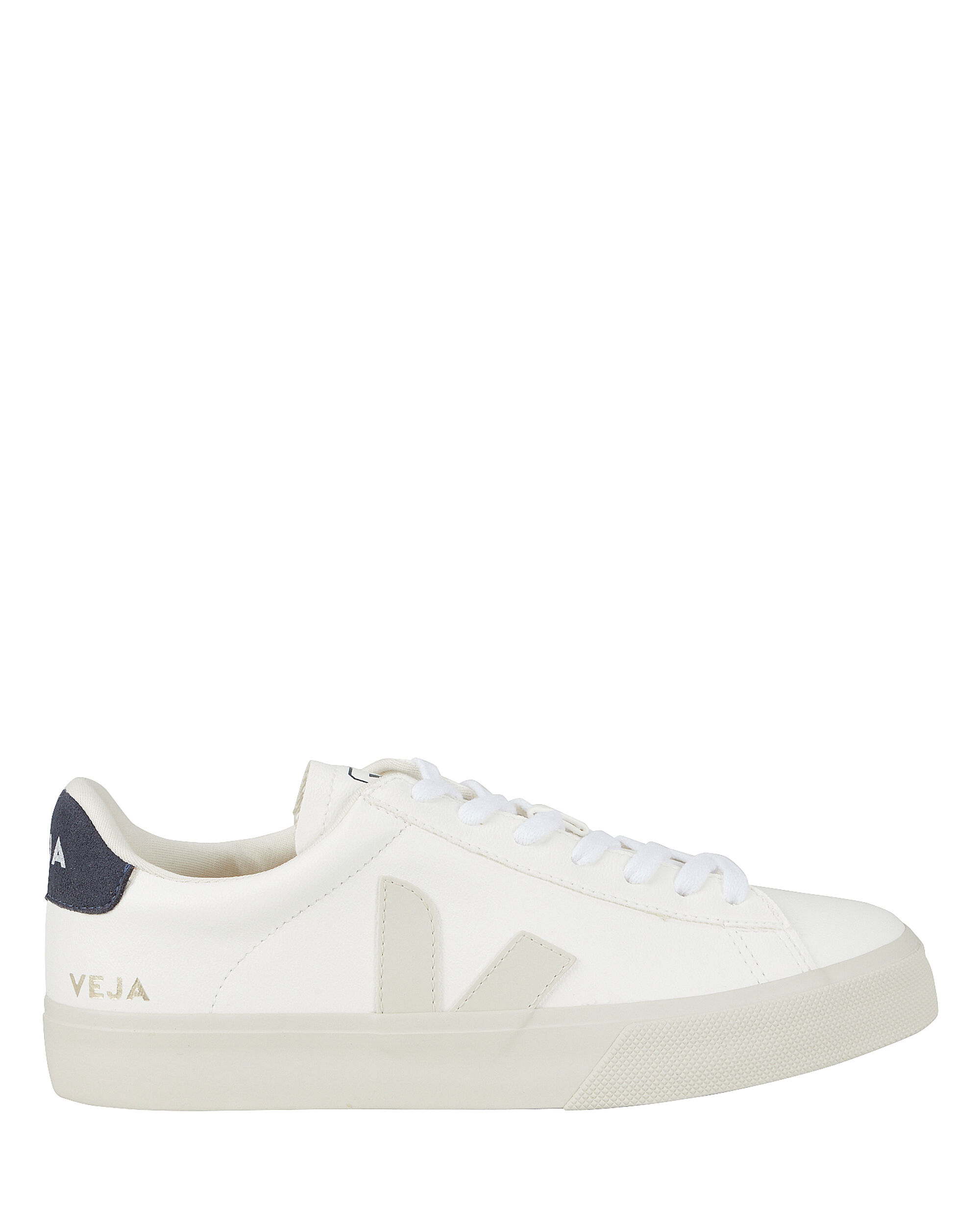 Campo Low-Top Sneakers, WHITE/NAVY, hi-res