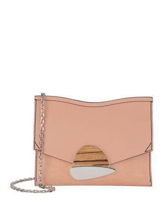 Curl Stone Pink Small Clutch, BLUSH, hi-res