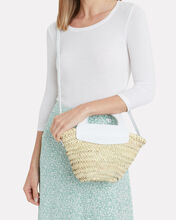 Small Cabas Straw Tote Bag, BEIGE, hi-res