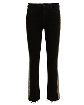 Rascal Beaded Stripe Jeans, BLACK, hi-res