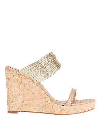 Rendez Vous 105 Wedge Sandals, BEIGE, hi-res