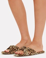 Polly Knotted Sandals, BROWN, hi-res