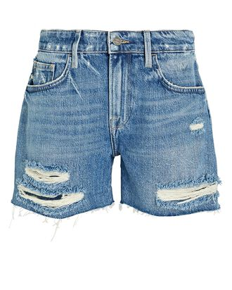 Le Grand Garçon Denim Shorts, DENIM, hi-res