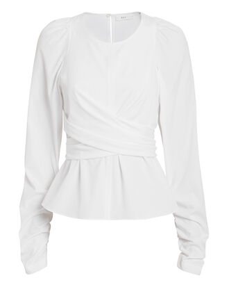 Carlin Top, WHITE, hi-res