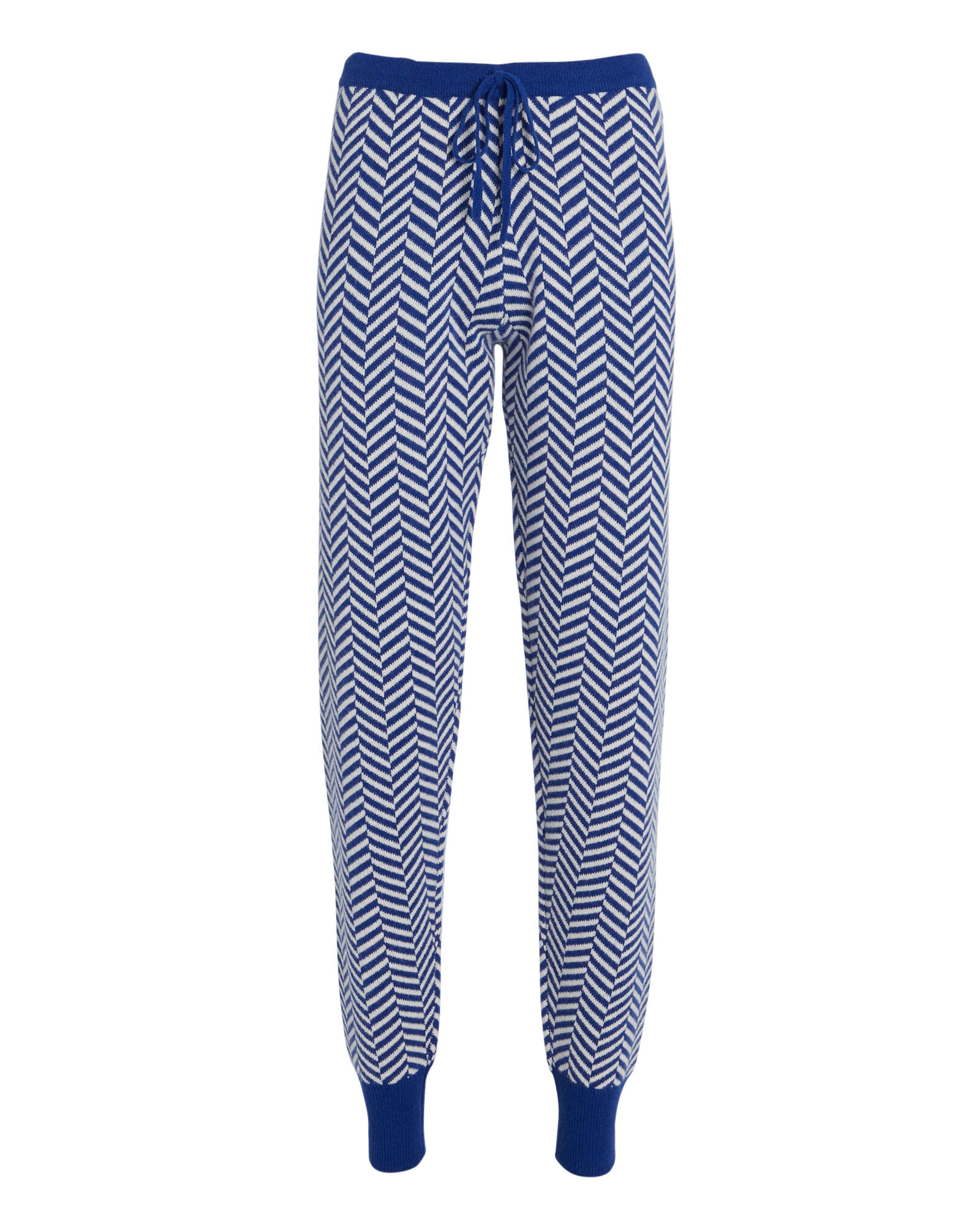 Poseidon Chevron Track Pants, BLUE/WHITE, hi-res