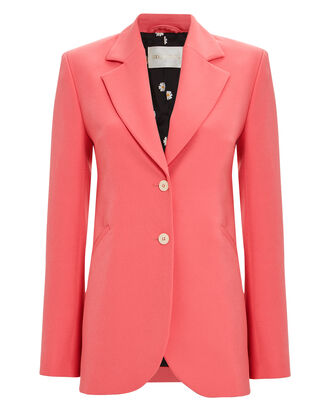 Florence Tailored Crepe Blazer, PINK, hi-res