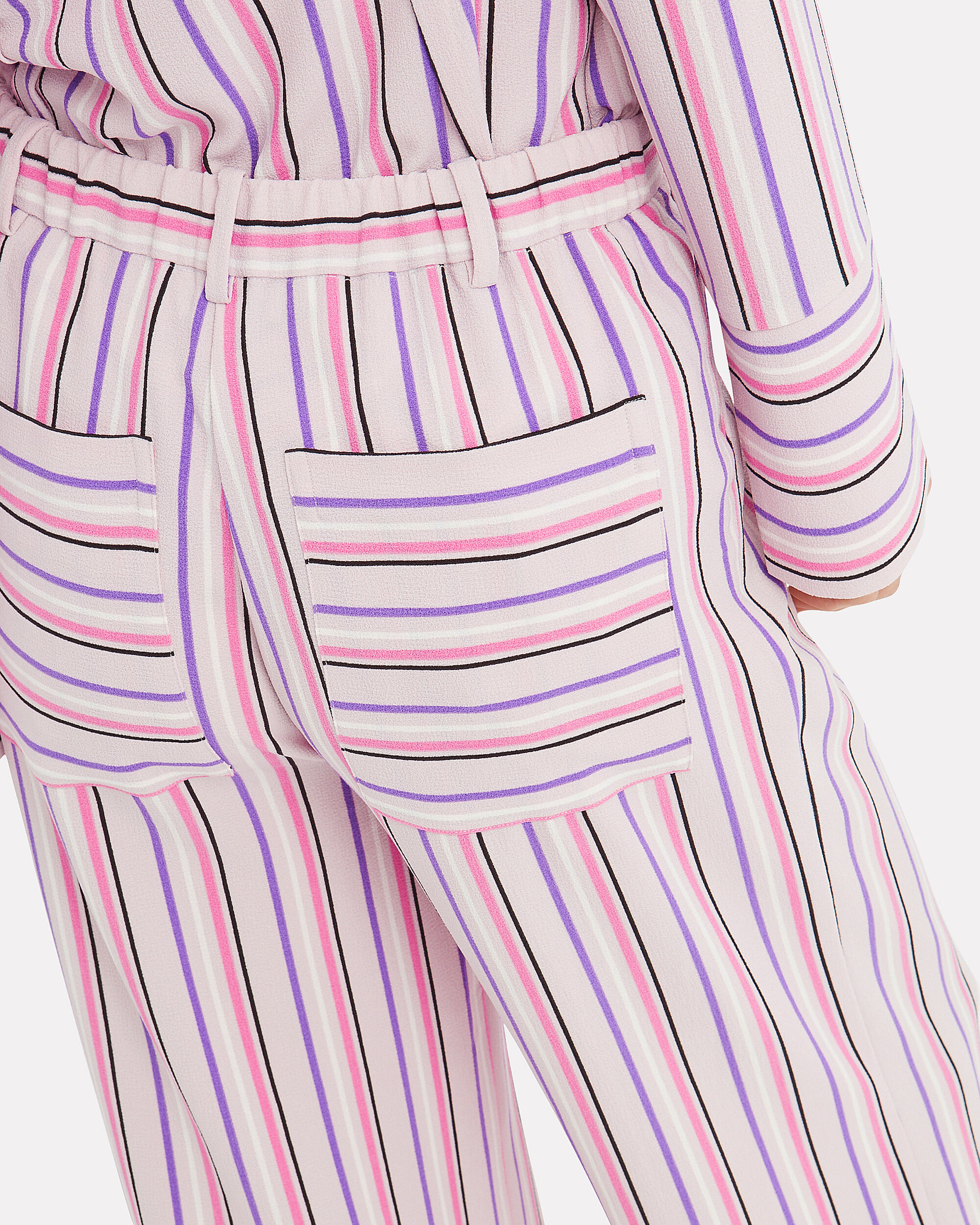 Cleo Striped Pants, PINK STRIPE, hi-res