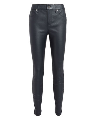 Madrid Leather Skinny Pants, MIDNIGHT, hi-res