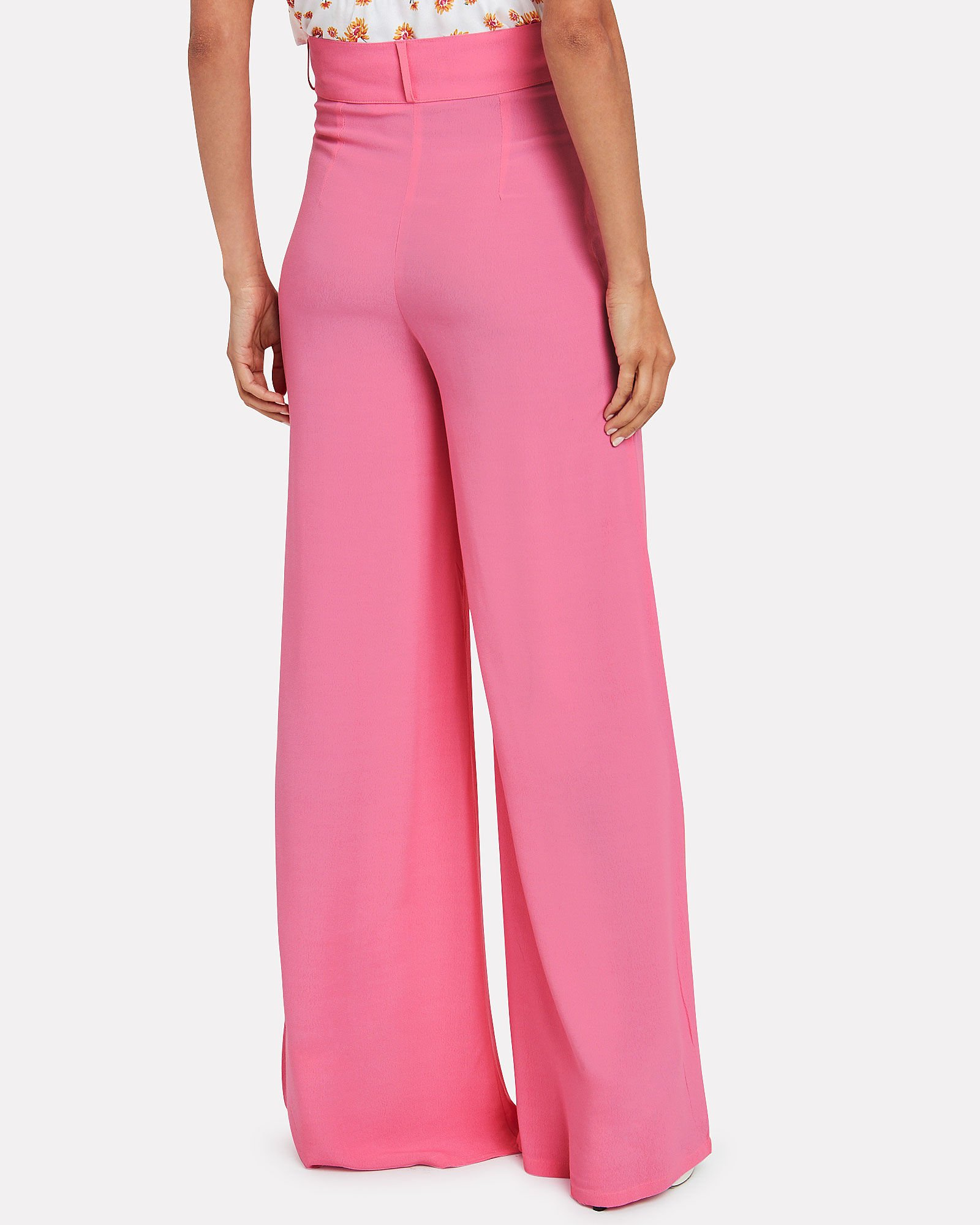 Murray Wide Leg Trousers, PINK, hi-res