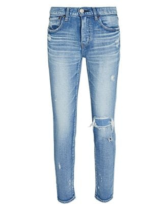 Lenwood Cropped Skinny Jeans, LIGHT WASH DENIM, hi-res