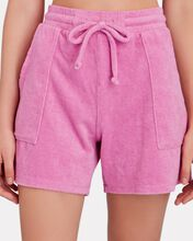 Poolside Terry Shorts, PINK, hi-res