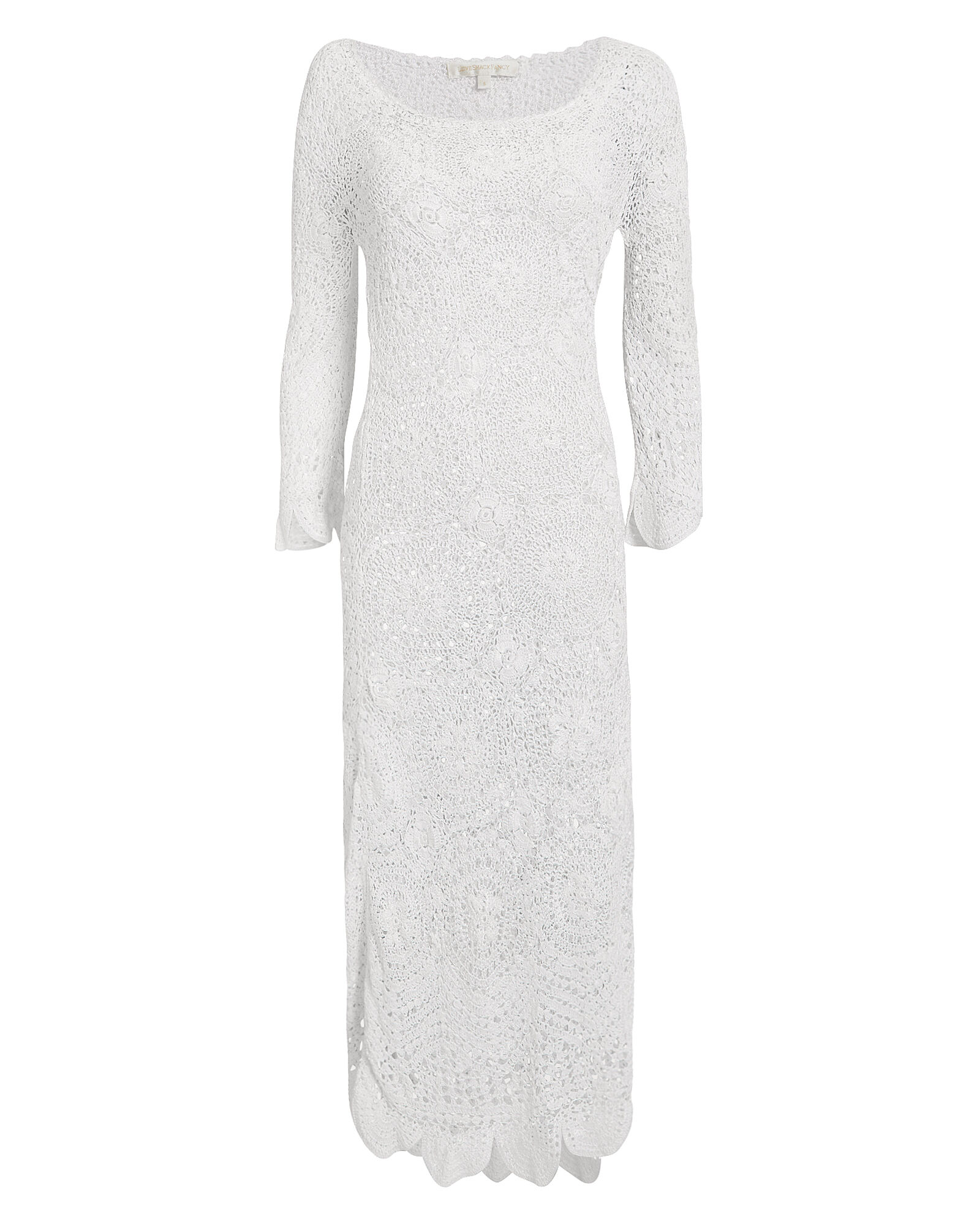 Helen Maxi Dress, WHITE, hi-res