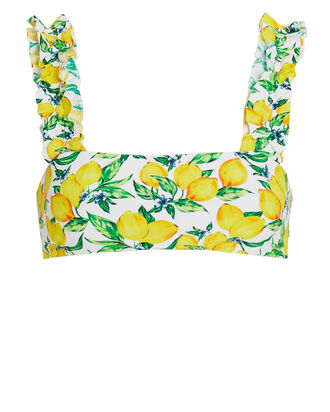 Como Bikini Top, WHITE/YELLOW/GREEN, hi-res