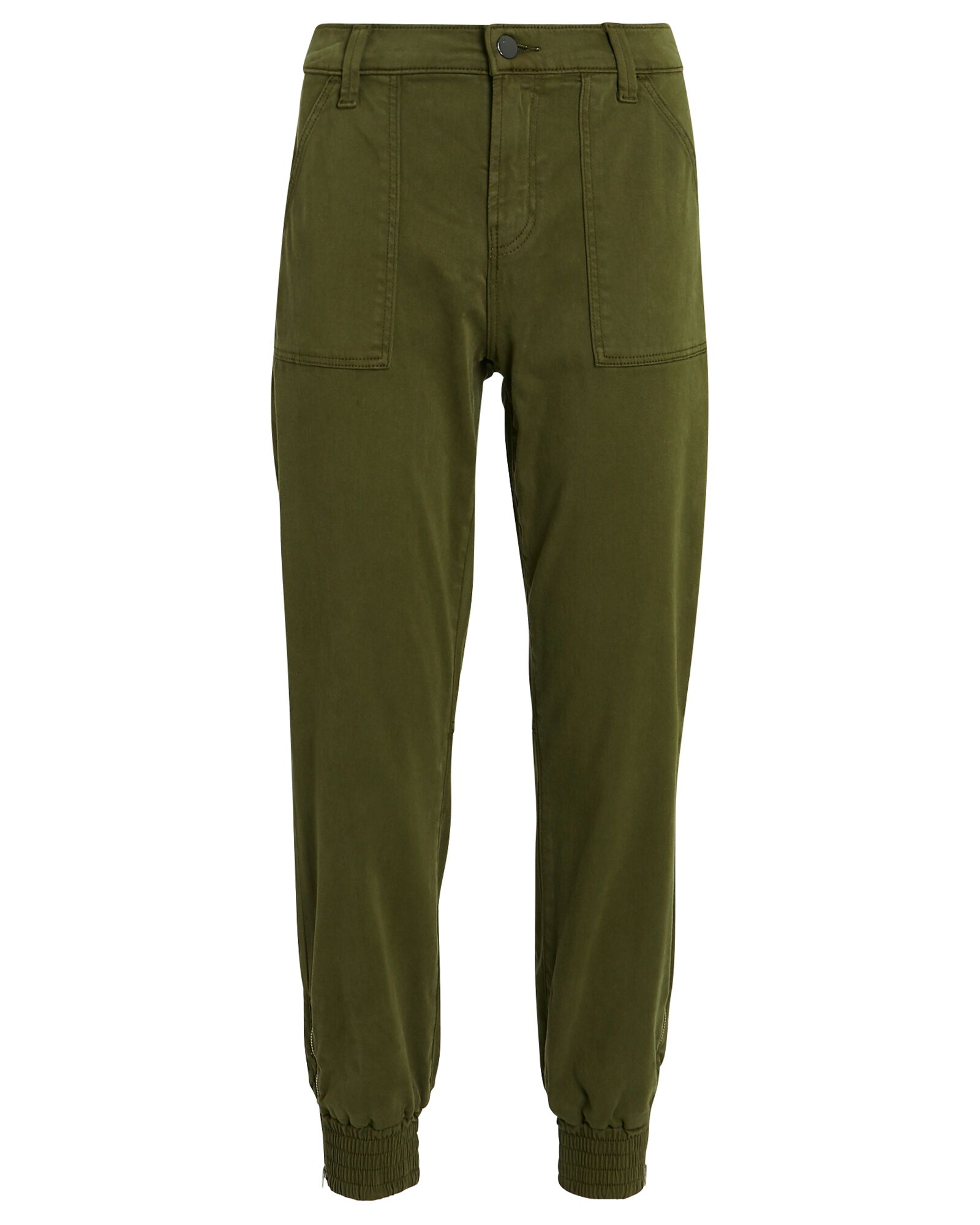 Arkin Sateen Joggers, OLIVE/ARMY, hi-res