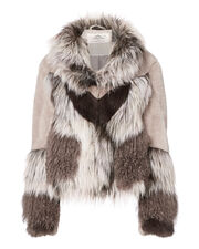 Wynter Faux Fur Jacket, MULTI, hi-res