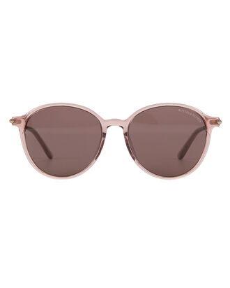 Oversized Rounded Sunglasses, ROSE/GOLD, hi-res