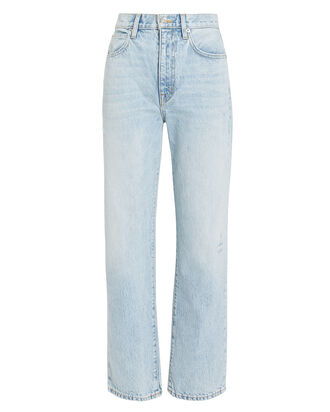 London Ankle Crop Jeans, LIGHT BLUE DENIM, hi-res