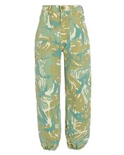 The Wrapper High-Rise Jeans, TROPICAL CAMO, hi-res