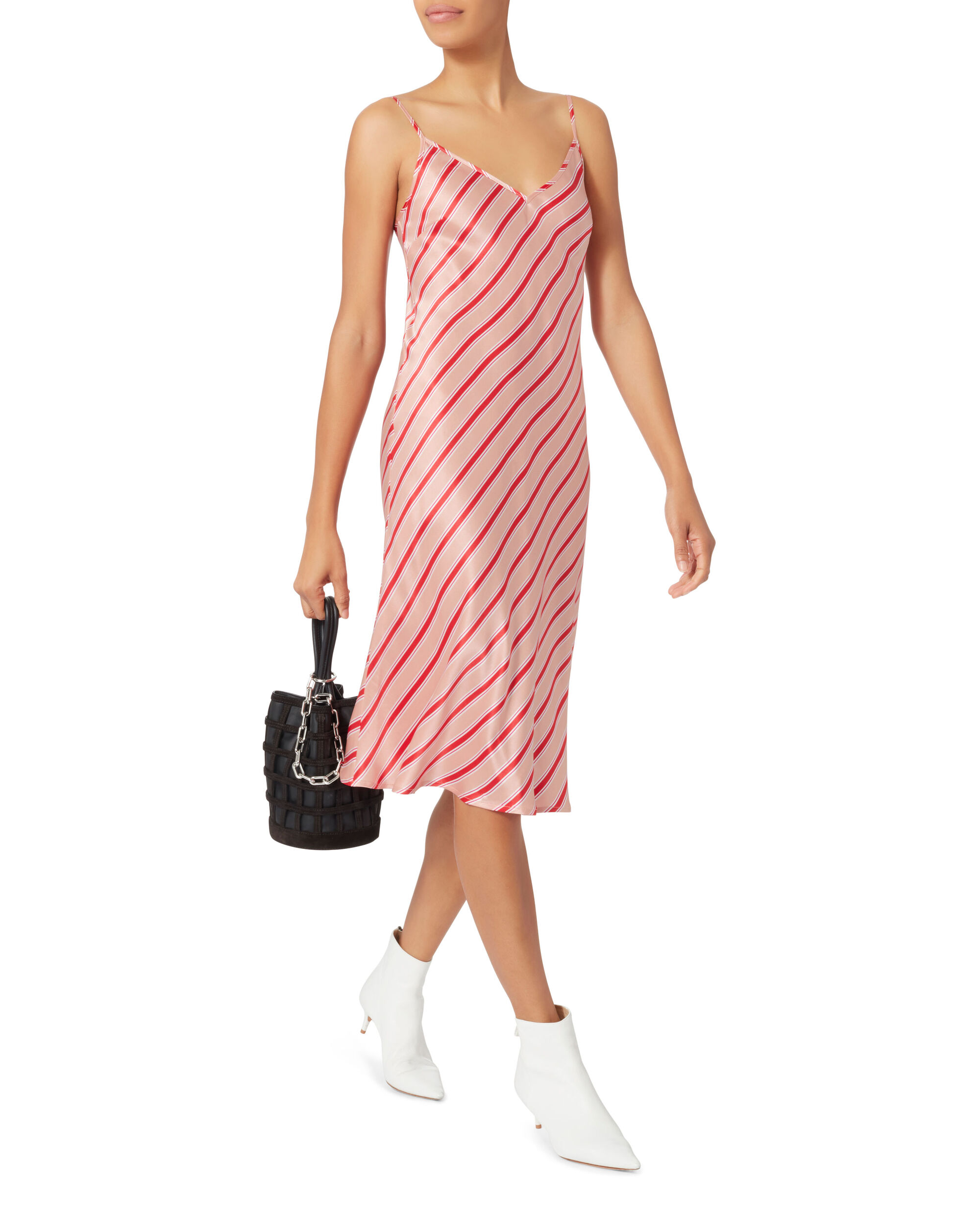 Need You By My Side Dress, STRIPE, hi-res